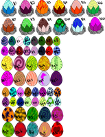 Egg Batch [Closed] by GrimmXD-Adopts