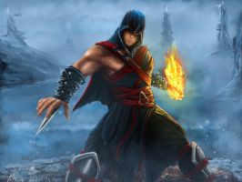 Earthrealm Assassin Liu Kang by LetticiaMaer