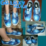 Galaxy Shoes by harperella
