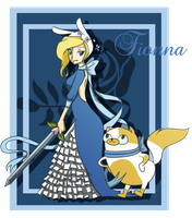 Fionna - warrior by ficakes911
