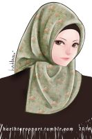 Turkey Hijab by harihtaroon