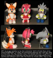 Key Chains: Amy Tails Silver by Wakeangel2001