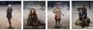 Dead of Winter Characters 05 by fdasuarez