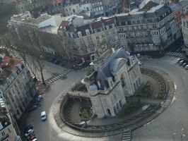 Lille Roundabout by LClaireJ