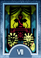 Persona 3/4 Tarot Card Deck HR - Chariot Arcana by Enetirnel