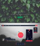 .: Senja - Rainmeter :. by AidenDrew