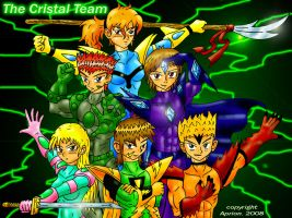 The Cristal Team by Aprion