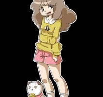 Bee and Puppycat by Erickiwi