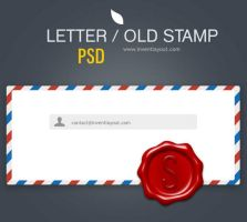 Letter - Subscribe - inventlayout.com by atifarshad