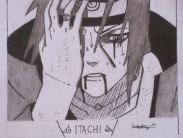 Uchiha Itachi - Sharingan by darkaslayer