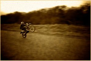 KTM wheelie vintage film by jordansimpson93
