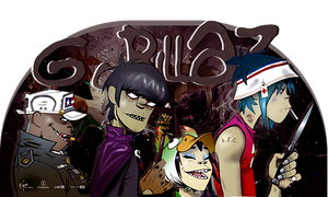Gorillaz by FlowEditions