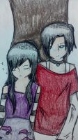 Contest Entry: Serenity and Nate by headstrong210