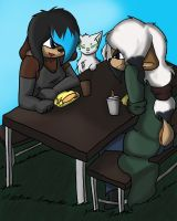 Lunchtime Assignment 3 by SleeplesslyDreaming