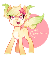 MLP Adoptable - Carambola (CLOSED) by tsurime