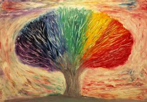 The Rainbow Tree by IvanRadev