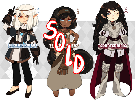 Adopt Set R (CLOSED) by Terrific-Adopts
