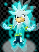 Silver The Hedgehog 01 by Nate-D