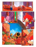 Knuckles - The Takeover pt1 p2 by handtoeye