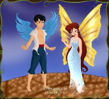 Ariel and Eric Pixies 3 by Arimus79