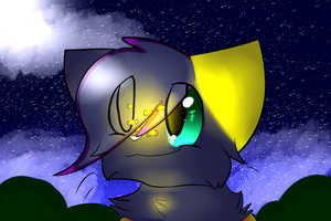 Dusk found a firefly + SPEEDPAINT by Darkstar-9-25