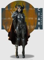 Character Concept - Ciara Torero by oneillustrates
