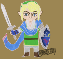 Hyrule Warriors Link by MattiasMay