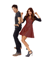 Nina Dobrev, Ian Somerhalder PNG/Render by magic-falls