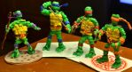 Teenage Mutant Ninja Twist Ties by justjake54