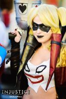 Harley Quinn-Injustice by aaaandgirls