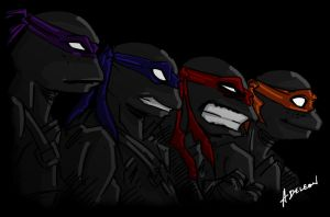 Teenage Mutant Ninja Turtles by ADL-art
