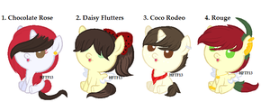 CLOSED Background Pony Shipping Adopts by HopeForTheFuture13