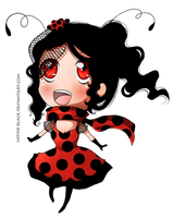 Little Miss Ladybug by Satine-Black