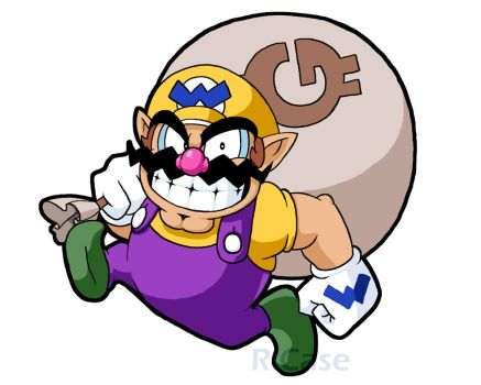 Its Wario Time by rongs1234