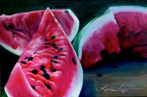 A Taste of Watermelon by LindsayRapp