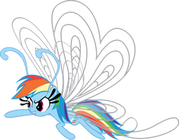 Rainbow Dash Breezie by benybing