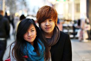 Strangers 1 and 2: Jasmin and Khang by vampireweekends