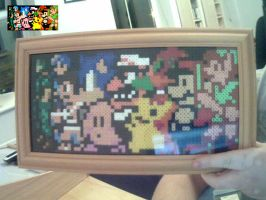 Hama 8-bit Brawl by tony-boi