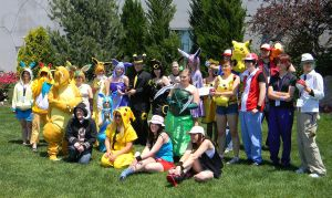 Colossalcon Pokemon Group by EndOfGreatness