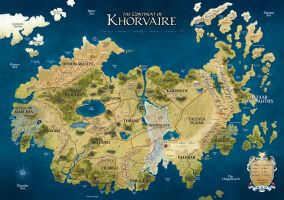 Khorvaire by murraysv75