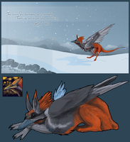 Winter OC giveaway for bluevengeace by bolthound