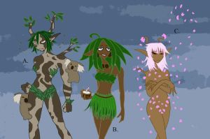Common Dryads