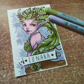 Lunara Fanart by DieKunster