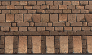 Tiling Brick Wall Texture by JulioNicoletti