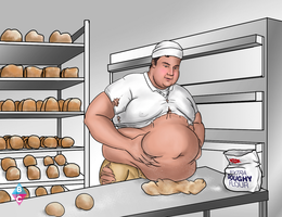 THE BAKERS DOUGH commission 4 of 5 by butterchuk