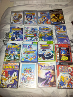 My Sonic Games Collection. :3 by Kyaatto