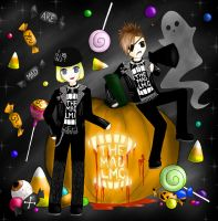-+ Halloween +- by x-BlueberryHeart-x
