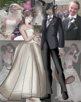 Trev and Becky wedding by Delishia
