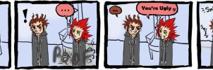 Axel is a Meanie, Part VII by Quinchilla