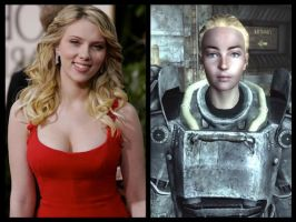 Fallout 3 Casting - Sarah Lyons by Doc0316